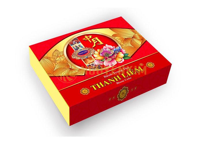 Bao bì hộp bánh thương hiệu Thanh Liêm