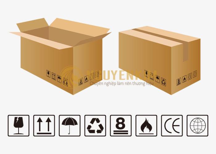 Ký hiệu in trên thùng giấy carton