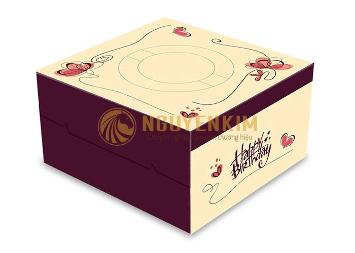Mẫu hộp bánh kem đẹp Hà Nội