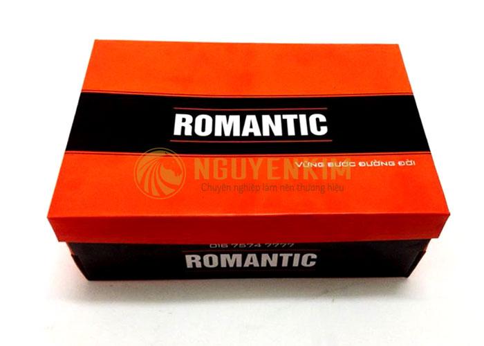 Mẫu in hộp đựng giấy Romantic