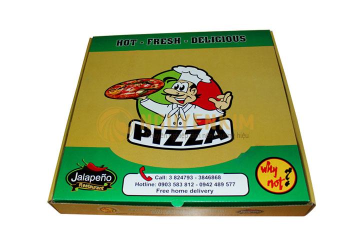 Mẫu vỏ hộp pizza tại Hà Nội