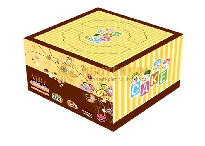 Thiết kế hộp đựng bánh kem