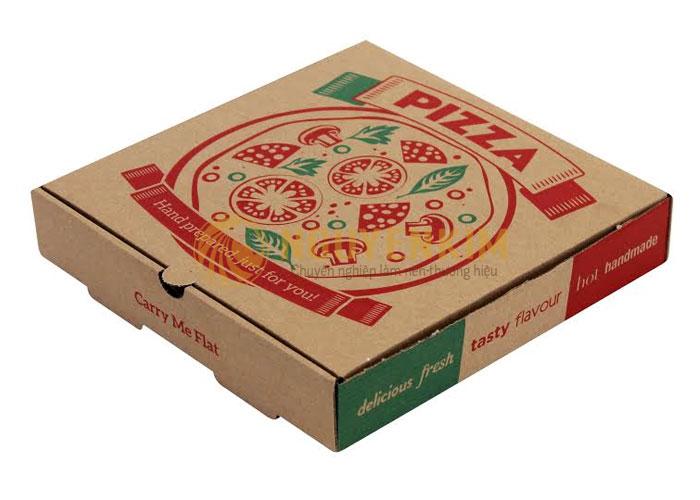 Thiết kế hộp giấy đựng bánh pizza