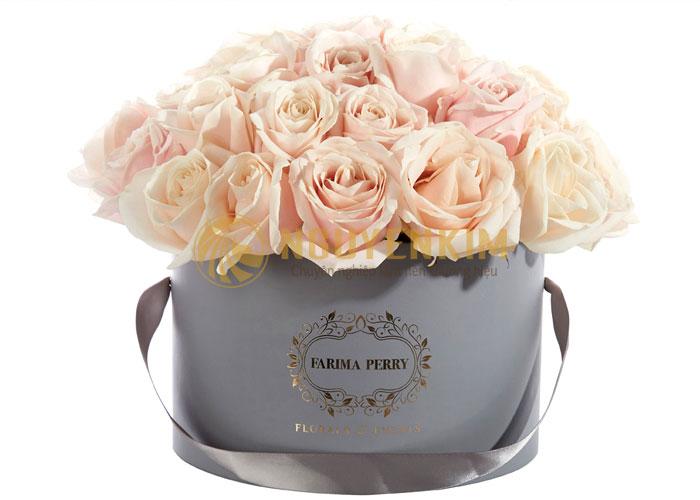 thiết kế hộp đựng hoa cao cấp