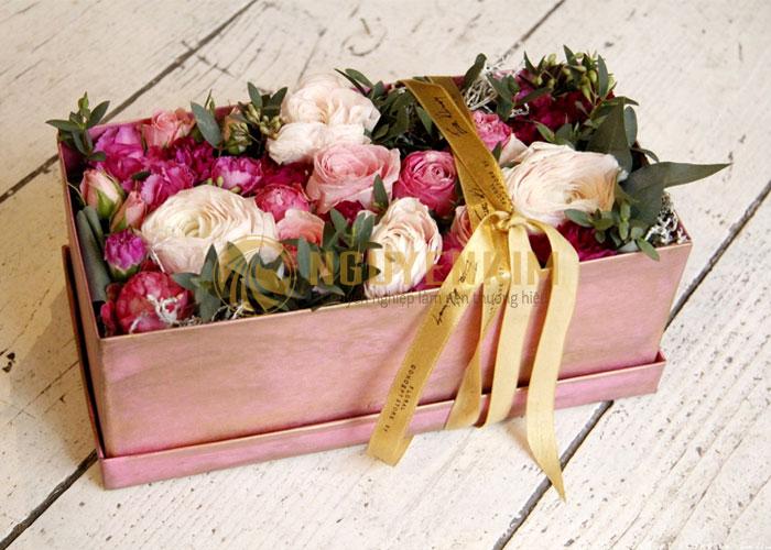 ý nghĩa của hộp đựng hoa